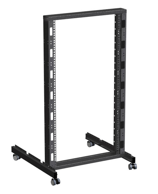 "Rack Magic - 482.6mm (19"") zwei Säulen Standrack 21HE"