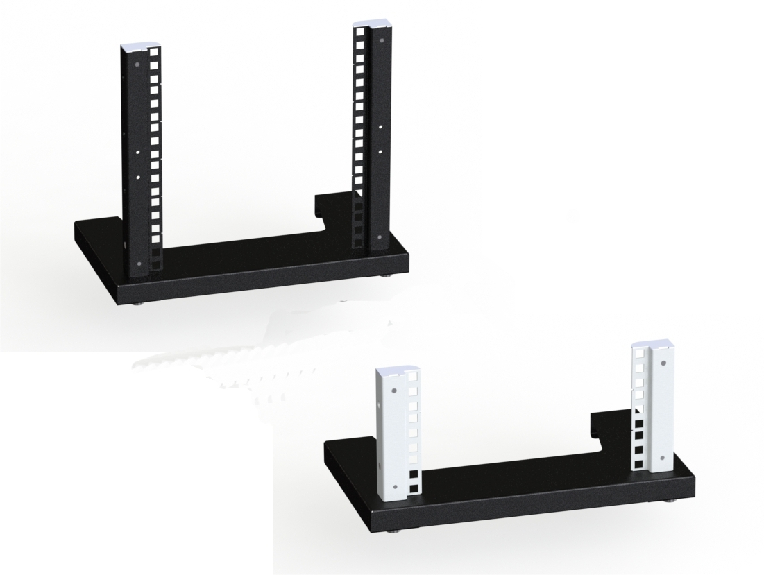 "Mini Rack - Supporto per rack da 254 mm (10"") 3U / 6U - 10 pollici"